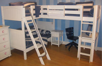 best selling pine kids bunk bed