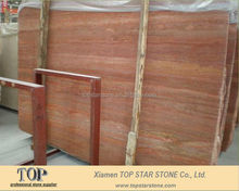 Persian red Travertine marble