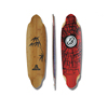 KOSTON downhill/freeride style longboard deck LD205, high quality long board deck made from bamboo and maple hybrid material