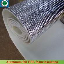 Sound proof open cell heat insulation aluminum expanded polyethylene foam insulation