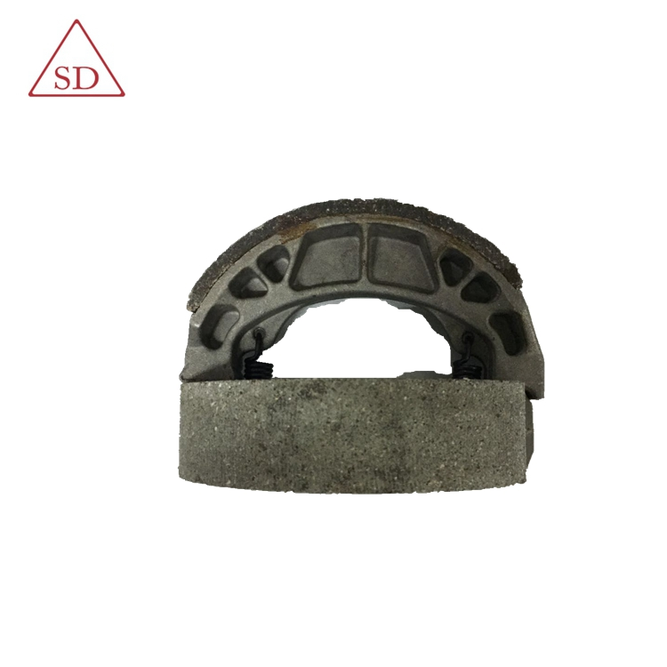 cg125 brake shoe of motorcycle for motorcycle rear wheel in soft brake lining