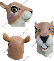 2014 hot selling king party masks celebrations rubber KUNG FU squirrel mask