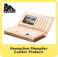 Good Handmade Genuine Leather Industrial Products Purse Wallet