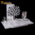 fashion design desktop acrylic display stand/ white jewelry display stand