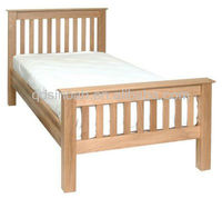 Oak Wood Bed/Wooden Bedroom Furniture
