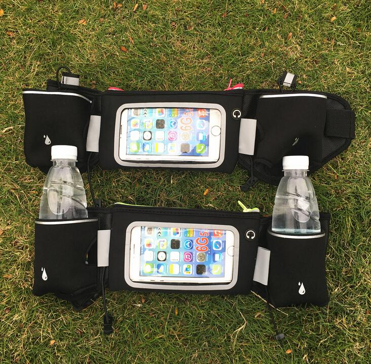 hydration fuel belt with water bottle runners waist pack