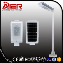 2017 new outdoor IP65 motion sensor solar led street light