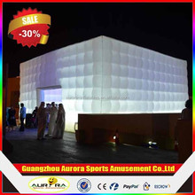 Giant Inflatable Event Cube Building with factory price