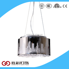 2016 Simple laser cutting light LED pendant light crystal light for home or dinning room