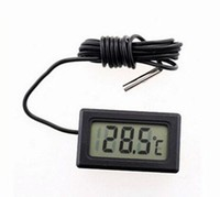 LCD Digital Panel Thermometer Temperature Meter
