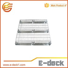 E-deck selective wire mesh decking for logistics
