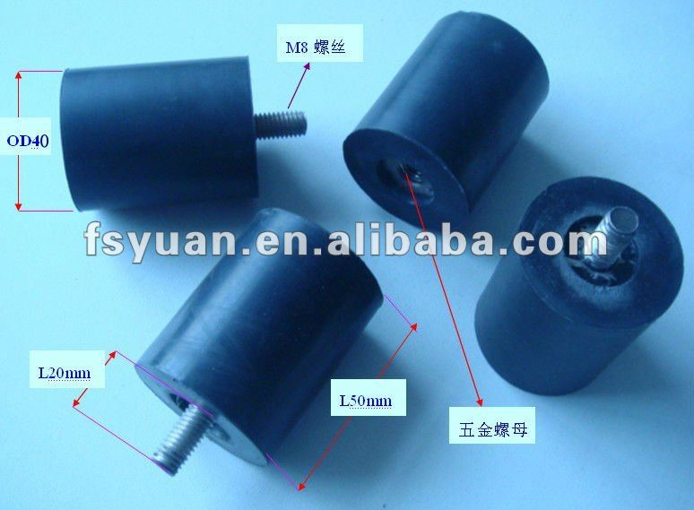 Rubber anti-vibration products