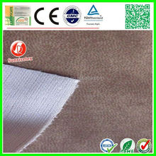 artificial wearproof lambskin leather fabric for furniture