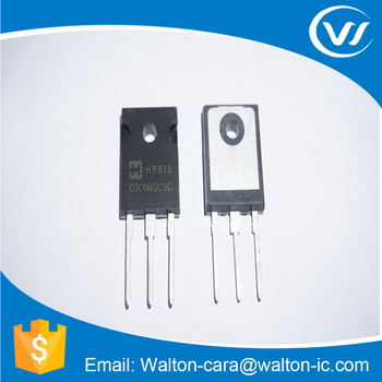 New & Original Electronic Component G30N60C3D IGBT