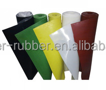 hypalon fabric SBR rubber sheet manufacturer