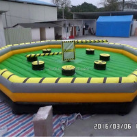 Funny Inflatable Wipeout Game Crazy Inflatable