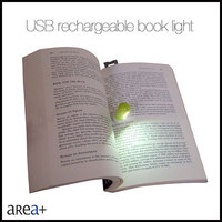 creative unique idea rechargeable reading book light