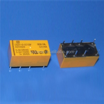 Power Relays, Over 2 Amps DS2Y-S-DC12V RELAY GEN PURPOSE DPDT 2A 12V