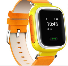 "Q60 Q90 GPS Kids Tracker Watch With Dual-Talking Function Kids GPS Smart Watch Phone Color 1.44"" Screen"
