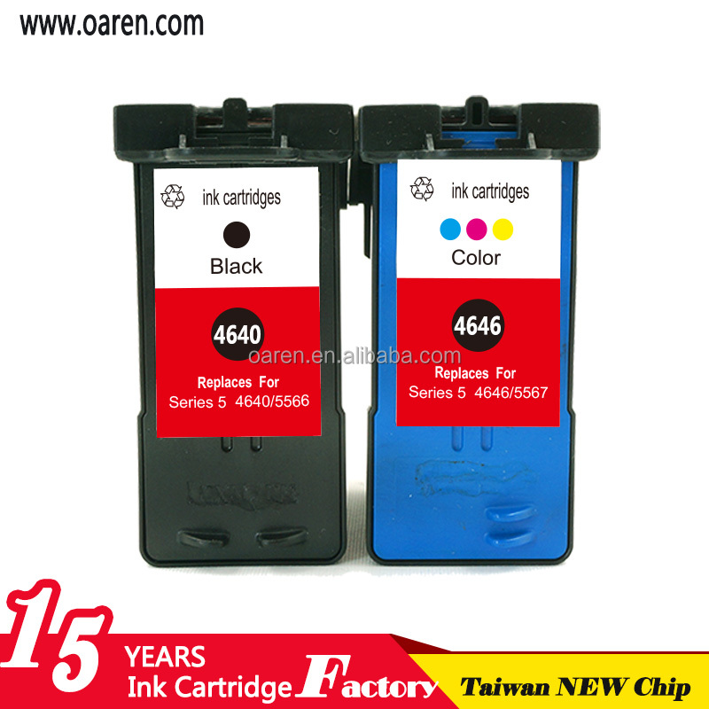 Factory product Remanufactured ink cartridges compatible for Dell M4646 for Dell 922 942 962 Printers