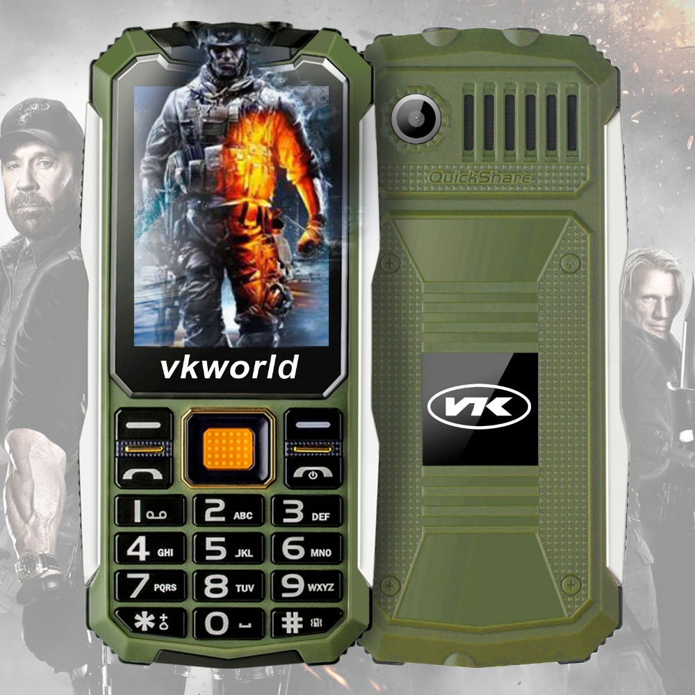 2.4inch 2G Feature Phone OEM Small Size Buy Cheap China Phone 2200mAh Waterproof Cell phone VKWORLD STONE V3S