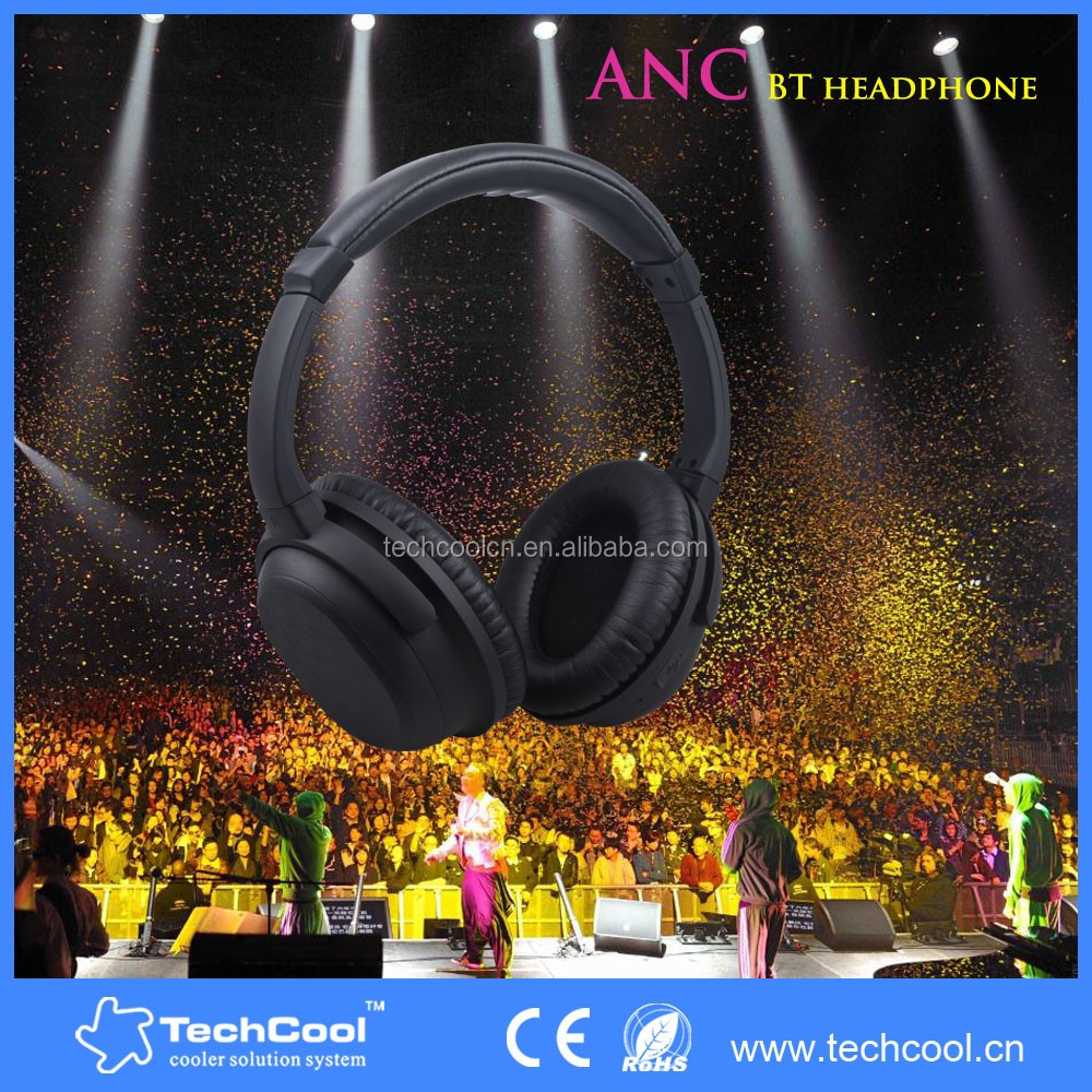 High Quality Factory Price Sport Earphone Bluetooth Headset V4.0 Wireless Stereo Headphone with ANC function