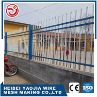 cheap certified PVC coated curvy welded yard zinc steel wire mesh fencing