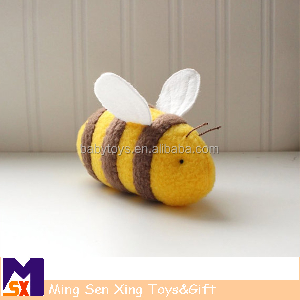 Factory wholesale plush bumble bee toys
