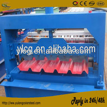 Automatic roof sheet cold roll forming machine