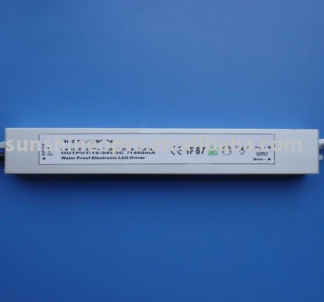 LED Constant Current Power Supply 1.4A 24V