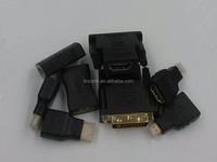HDMI male USB connector to female gold plated