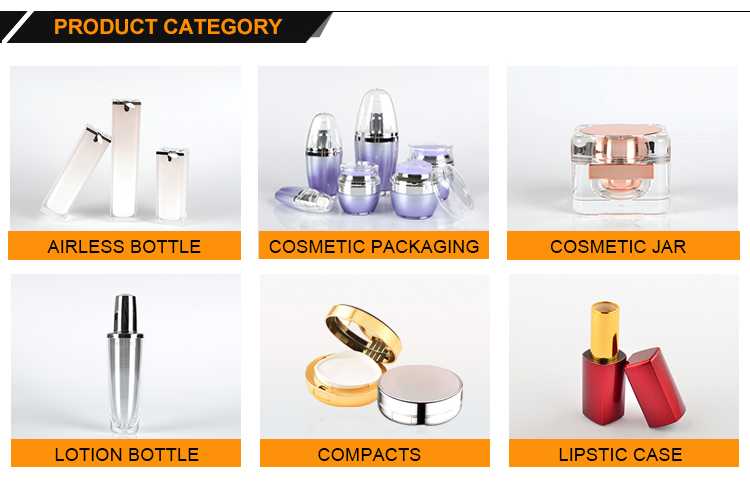 Cosmetic lotion bottles and packaging supplies