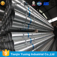 steel pipe of galvanized for irrigation made in tianjin china