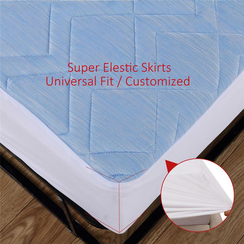2017 top 10 cooling quilted mattress protector cover deep simple fire retardant