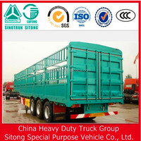 3 Axels Stake Transport Semi Trailer