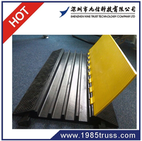 2 / 3 / 4 / 5 channel cable ramp.cable protector,cable bridge
