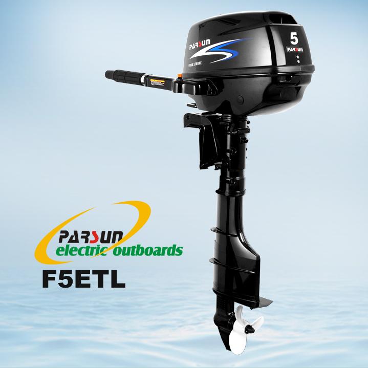 5hp Electric Outboard Motor Tiller Control Long Shaft