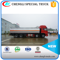 DONGFENG 270hp 8*4 Heavy Duty 27000L Used Diesel Fuel Storage Tank Fuel Delivery Trucks