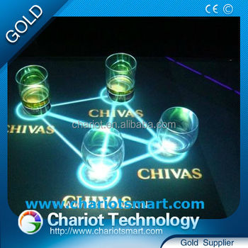 Best price Chariot ininteractive top counter bar ,easily customize the different visual effects