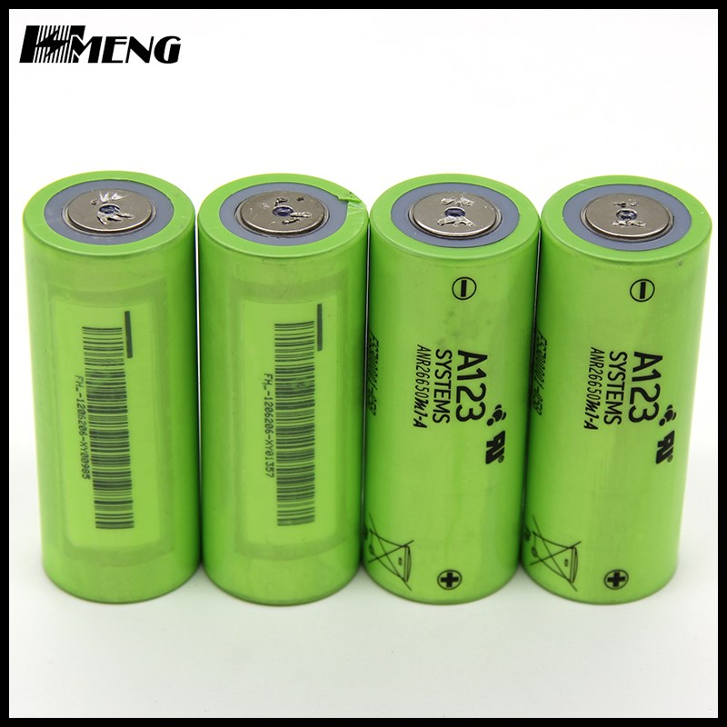 A123 battery 26650 lifepo4 battery cell ANR26650M1B 2500mAh A123 ANR26650 battery cell