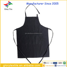 China custom 100 cotton canvas denim kitchen apron cooking apron