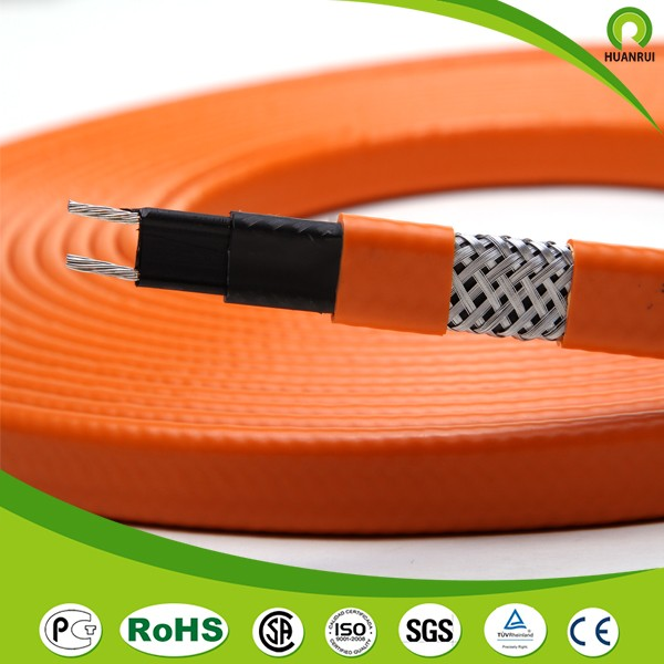 Euro-market self regulation roof heat tracing cable can be use in hazardous area