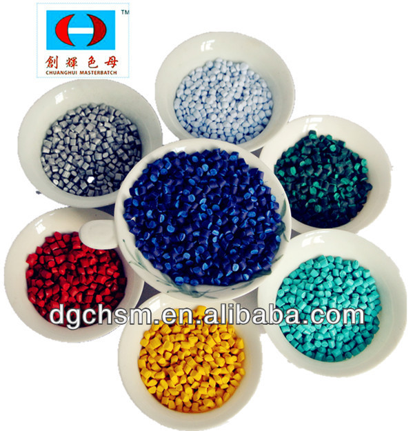 plastic masterbatch for good dispersibility film and injection
