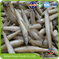 All types of frozen seafood cheap pond smelt fish supplier