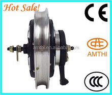 Dc Brushless 48v 1000w Electric Trike Hub Motor With Ce Approved,Professional production 16 inch electric wheel hub motor,Amthi