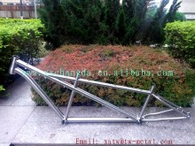 Titanium mountain bike frame with rohloff dropout Titanium MTB bike frame belt drive Titanium tandem bike frame custom