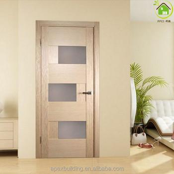 White Oak Craftsman Interior Glass Door Natural Wood Color Door Modern Slab Door Buy