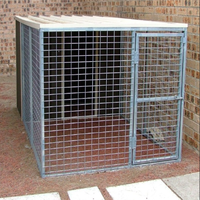profesional factory produce outdoor dog kennel/heavy duty dog kennel