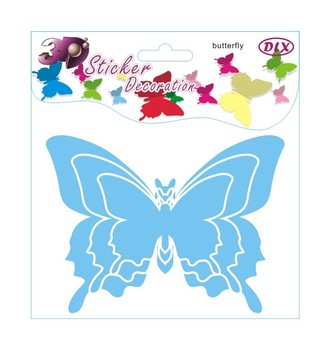 Decorative removable 3d butterfly wall stickers mixed order