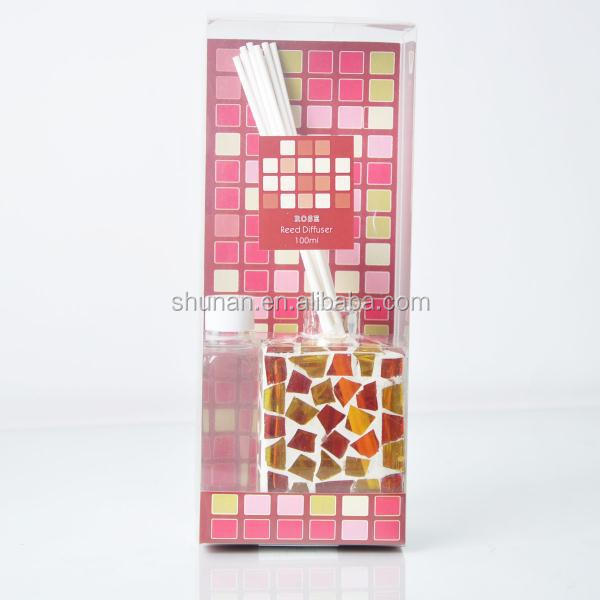 Decorative wholesale mosaic reed diffuser with high quality